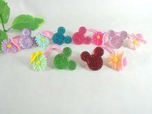 wholesale rubber hair clip