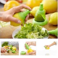New arrival Fruit Juice Sprayer Hand Mini Lemon-squeezer Reamers 2 ocs/set Juice Extractor Kitchen Tools Set Free shipping