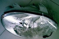 Daewoo elegant headlights headlight