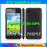 ZTE V889S Phone With MTK6577 Android 4.1 Dual Core 3G GPS 4.0 Inch Multi-Language SmartPhone