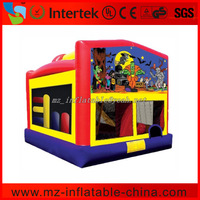 Halloween bouncer house