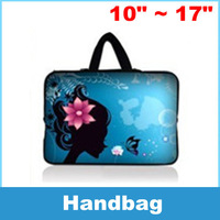 Laptop Sleeve Bag Case Carry Cover Pouch Beautiful girl pattern For 10 11 12 13 14 15 16 17 17.3 17.4 Inch Notebook Laptop PC