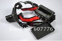 10pcs/lot Hot 18650 Headlamp 5W 300Lm CREE Q5 LED HeadLight 3 Mode Waterproof Headlamp ZOOMABLE Hiking Headlight