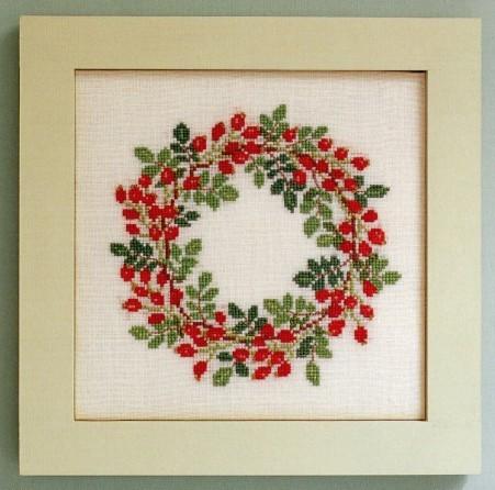 factory Crafts Arts gift Dmc spiraea cross stitch kit herbal hc2428 ...