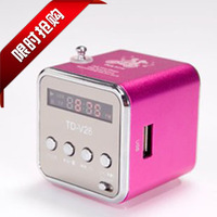 Insert card speaker mini audio radio portable small audio mobile phone tablet mp3 player