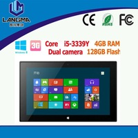 "Langma F2 Windows Tablet PC Intel i5/i7tablet pc 11.6"" IPS Screen Wifi/3G+WIDI 4GB RAM 32/64/128GB SSD VS Surface pro tablet pcs"