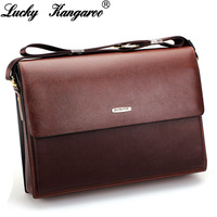 Kangaroo male package commercial 2013 male briefcase genuine leather casual shoulder bag genuine leather messenger bag