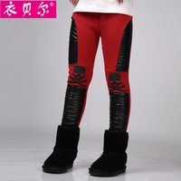 Children's clothing female child autumn and winter 2013 child legging child casual long trousers