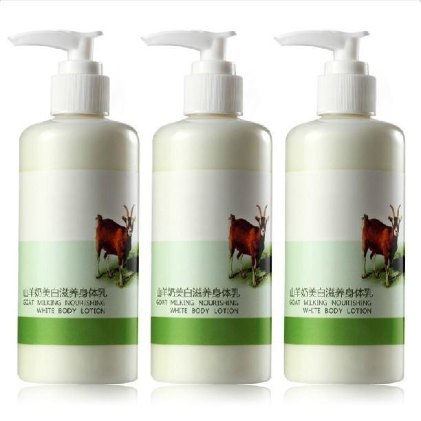 AFY Goat Milking Body Lotion Moisturizing Whitening Body Cream Anti-wrinkle Body Skin Care Body Cream Milk Nourishing Skin(China (Mainland))