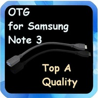 2pcs OTG Cable Fit for Samsung Galaxy Note 3 Adapter N9000 N9005 USB Data cable