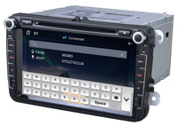 Audiosources radio cd usb mp3 for skoda with BT,IPOD,GPS ,MP3,MP4,USB,TV,radio(7608s)