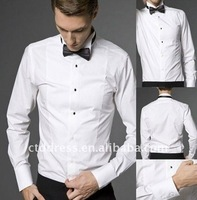 Free shipping 2013 New Model men's slim cotton long sleeve casual shirt tailor made new fashion men's cotten big shirts