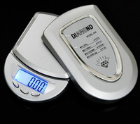 Portable Mini Jewelry Scale Electronic Scale 500g/0.1g  Precision Electronic Jewelry Pocket Scale Good Quality Silver