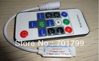 DC5V Mini RF Wireless WS2811//WS2812B/TM1804/TM1809/INK1003 Dream Color Controller;2048pixels controlled