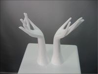 female Mannequin hands display for sale  hand bag jewelry display stand Ring Bracelet Necklace shoes Display Holder