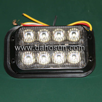 New LED Strobe light 8leds DHS53025 Police light bar Spotlight