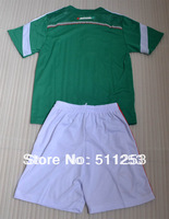 2014 world cup MEXICO home green kids soccer jersey high quality children football uniform shirt kits free shipping
