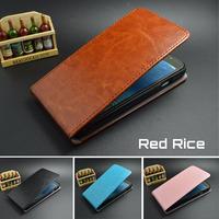 Xiaomi Red Rice  Case Cover High Quality PU Leather Flip Design xiaomi hongmi hongmi 1s case Free Shipping