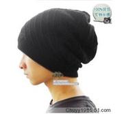 free shipping Tidal current mens cap autumn and winter casual cap dual muffler scarf fashion turban hip-hop hiphop cap