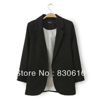 New winter wild color candy-colored suit European and American women's suit jacket Slim Blazers women