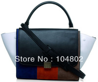 Luxury Trapeze Leather Tote Bag Original Nappa Leather Suede Leather Trapeze Bag 1:1 Trapeze Best Quality Designer handbag