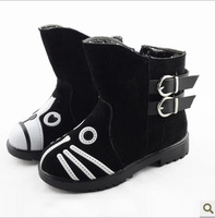 NEW autumn & winter child  single shoes children boots girls  princess shoes child boots