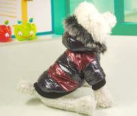 Pet wadded jacket dog autumn and winter dog cotton-padded jacket