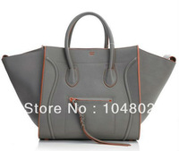 1:1 Luxury Phantom Original Leather Bag Original Leather Suede Lining Phantom Tote  Best Quality Designer handbag 2014 Hot Sale