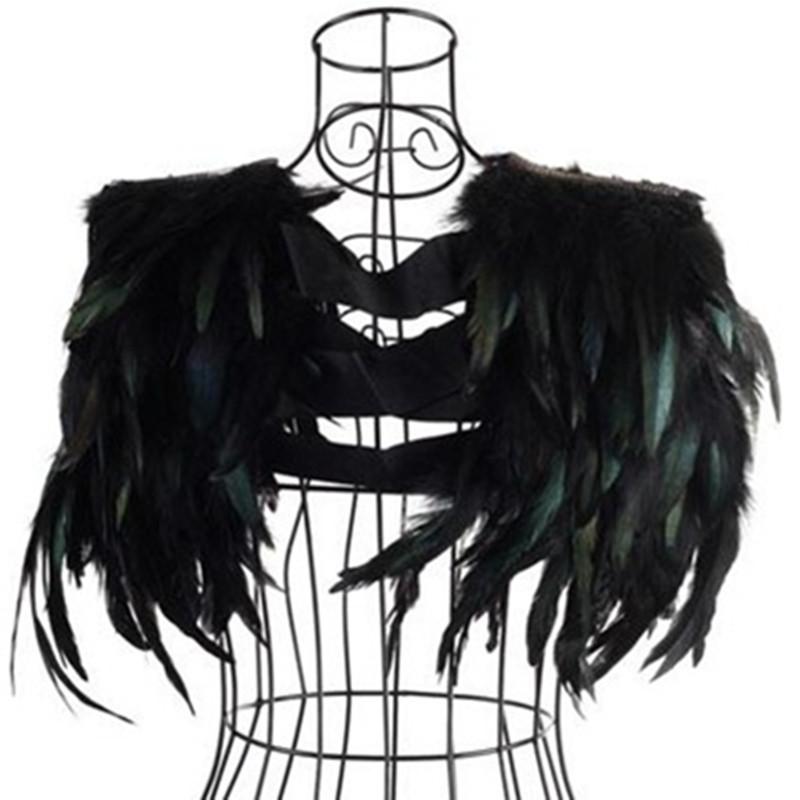 Trajes FRETE GRÁTIS cantor Moda feminina Shenzhou-7 penas pequenas pequenas capa colete ds traje VENDA QUENTE