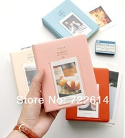 64 Pockets Photo Album Case Storage PVC Credit Cards Holder Mini Film Size Fashion Mixed Color