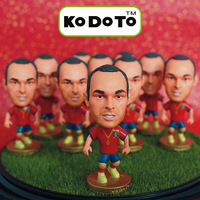 KODOTO 6# INIESTA (ESP) Soccer Doll (Global Free shipping)