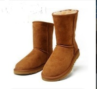 Bought the new 2013 short boots fur boots in 5825 buckle female boots