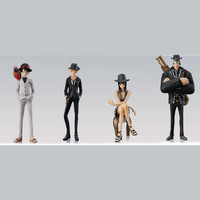 ONE PIECE     PVC figure  Suit    Set  4 pcs #88