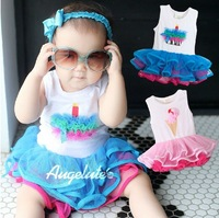 HB341 new fashion baby girl dress,new christmas baby romper girl jumpsuits(baby dress style)/Wholesale and Retail Honey Baby