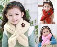 Child scarf muffler autumn and winter male female child fashion winter baby scarf villus