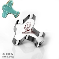 free shipping,Stainless steel biscuit mold,Environmental grade plane cookie mold,20 pcs cute styles,OS-CT022