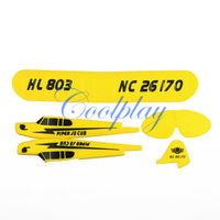 Free Shipping 1set fuselage for  Sea gull RTF 2CH HL803 rc airplane EPP material / rc glider HL803 body