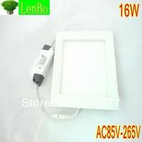 2PCS/LOT Free shipping High quality 16w 2835 smd led ceiling light for home light 1440lm 85-265v led panel light 16W LP2