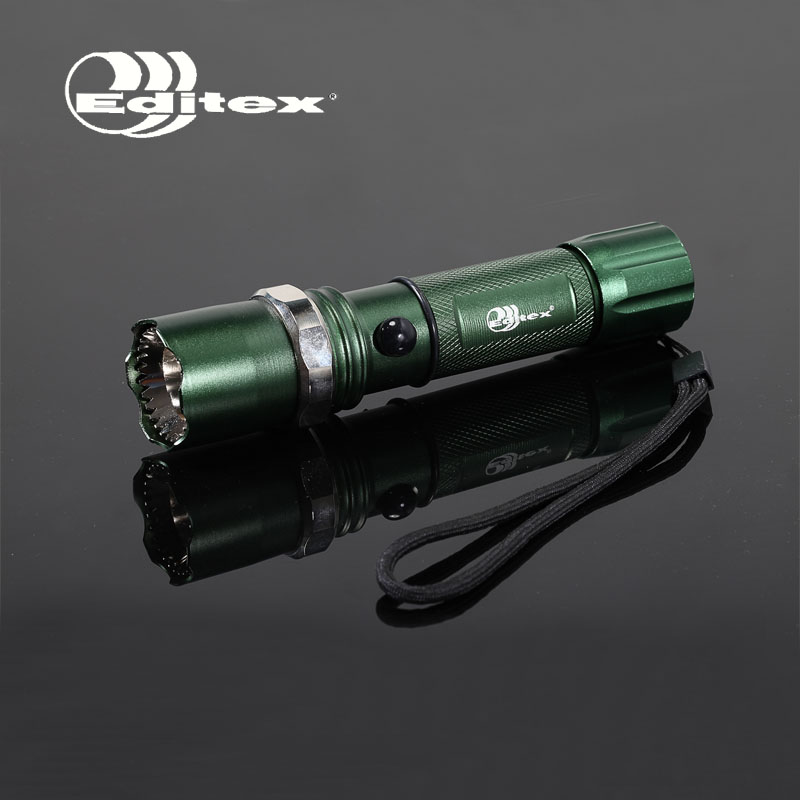 Free shipping Glare led household waterproof flashlight Portable,Hike,Cave Exploration, hunting,Self-driving travel, Camp(China (Mainland))