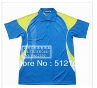 wholesale!Butterfly Man's Badminton /table tennis shirt colour red /blue /black BW12
