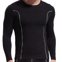 Men Top Soft Long Johns Bamboo Fiber Tight Slim Thermal Underwear  Free shipping