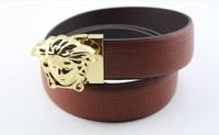 Medusa leather belt personalized leather business belt leatherBelts