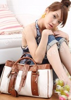 New Fashion Faux Leather Women's Tote Shoulder Bags Handbags Purses freesh