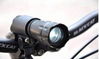 LY10106 LED flashlight zoom flashlight bicycle flashlight