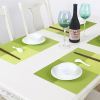 Free shipping New arrival placemat pvc heat pad waterproof dish mat
