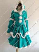 Free shipping Custom Cheap Blue Annie Cosplay Costume