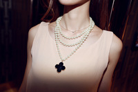 Brand new summer 2013 in Europe and the classic luxury pearl long chain sweater chain