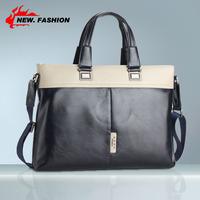 New Genuine Leather Men Bag Briefcase Handbag Men Shoulder Bag Laptop Bag,free shipping 2102