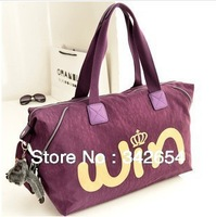 Women's canvas shoulder strap bag large volume waterproof canvas bag delivery free of charge