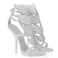 Brand fashion designer ladies ankle wrap high heels sandals,sexy women genuine leather dress shoes summer girl pumps white/black